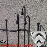 Entwurf für einen Zaun