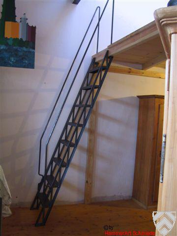 Genietete Treppe