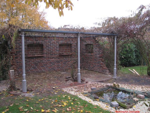 Ruine als Gartenfreisitz