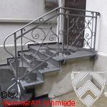 Neobarockes Treppengeländer