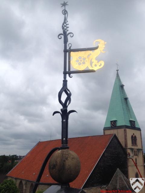 Lemgo Hexenbürgermeisterhaus Wetterfahne